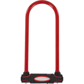 Masterlock 8195 Antivol en U 13 mm x 280 mm x 110 mm, red